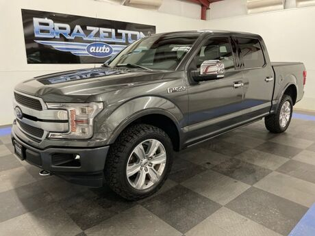 2018 Ford F-150 Platinum, Pano Roof, Bed Cover, BFG All-Terrains Houston TX