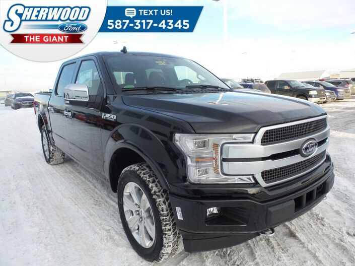 2018 Ford F-150 Platinum Sherwood Park AB