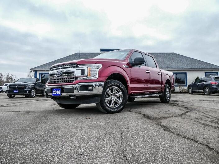2018 Ford F-150 XLT- 300A PKG- 4X4- BLUETOOTH- BACKUP CAMERA Essex ON
