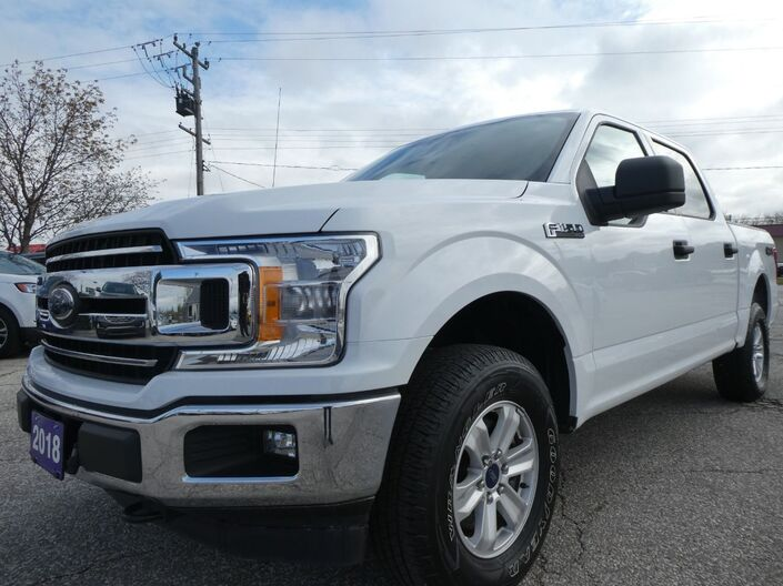 2018 Ford F-150 XLT 4X4 Back Up Cam 3.3L V6 Essex ON