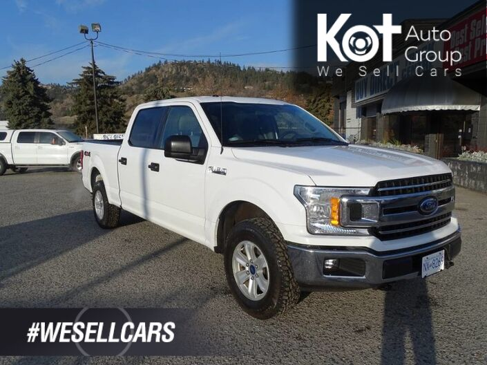 2018 Ford F-150 XLT, Low KM's! No Accidents! Back-up Camera Kelowna BC