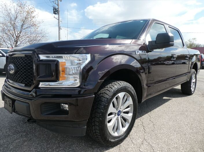 2018 Ford F-150 XLT STX Big Screen Middle Console 4X4 Essex ON