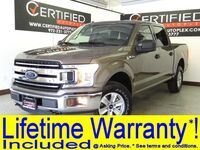 Ford F-150 XLT SUPERCREW 4WD ECOBOOST REAR CAMERA BED LINER KEYLESS ENTRY BLUETOOTH FO 2018