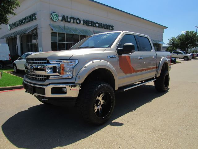 2018 Ford F-150 XLT SuperCrew 5.5-ft. Bed 4WD LEATHER, RUNNING BOARDS, BLUETOOTH CONNECTIVITY, BACKUP CAMERA Plano TX