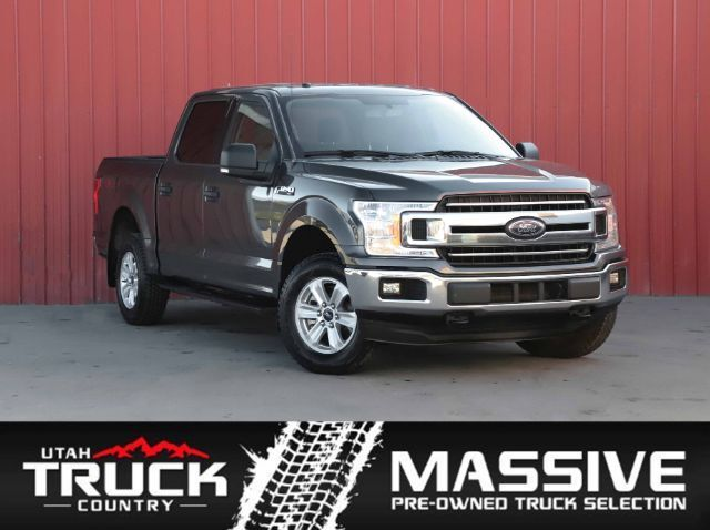 2018 Ford F-150 XLT SuperCrew 5.5-ft. Bed 4WD Lehi UT