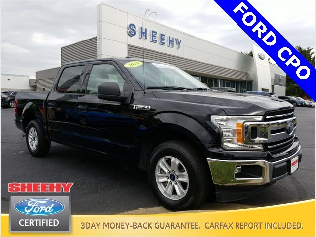 2018 Ford F-150 XLT 4D SuperCrew