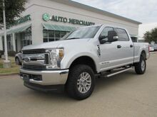 2018_Ford_F-250 SD_XLT Crew Cab 4WD CLOTH SEATS, BACKUP CAM, TOWING PACKAGE, ADJUSTABLE 4X4, TOWING MIRRORS, BLUETOOTH_ Plano TX