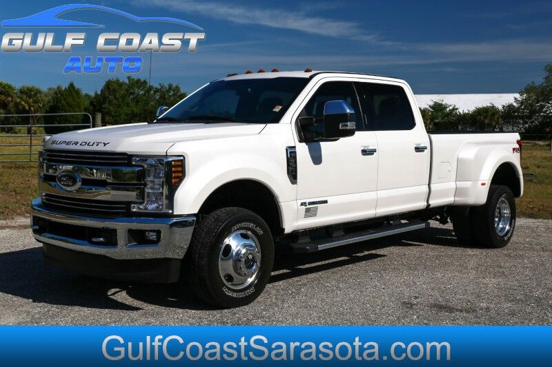 2018 Ford F-350 DRW LARIAT 4x4 TURBO DIESEL NAVI LOADED DUALLY Sarasota FL