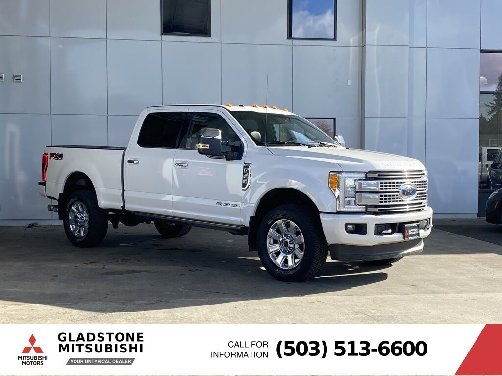 2018 Ford F-350SD Platinum Milwaukie OR