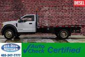 2018 Ford F-550 4x4 Reg Cab XLT Deck Diesel