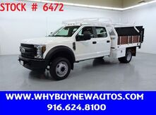 2018_Ford_F450_~ Crew Cab ~ Liftgate ~ 9ft. Contractor Bed ~ Only 25K Miles!_ Rocklin CA