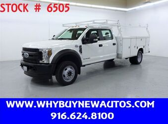 Ford F550 Utility ~ 4x4 ~ Diesel ~ Crew Cab ~ Only 31K Miles! 2018
