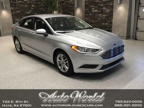 2018 Ford FUSION SE  Hays KS