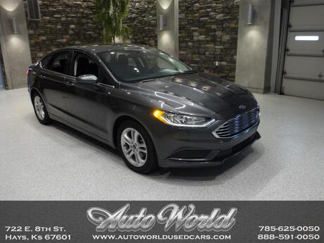 2018 Ford FUSION SE ECO BOOST  Hays KS