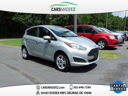 2018_Ford_Fiesta_SE_ Delmar DE