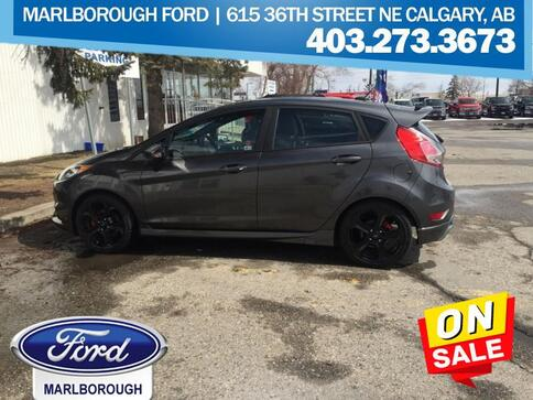 2018_Ford_Fiesta_ST  - Leather Seats -  Heated Seats_ Calgary AB