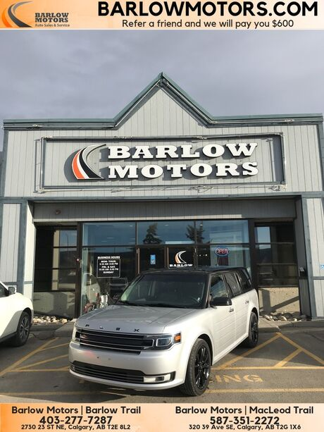 2018 Ford Flex Limited NAV PANO ROOF AWD Calgary AB