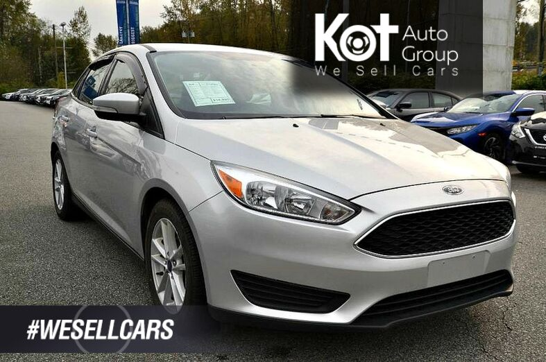 2018 Ford Focus SE Sedan Kelowna BC