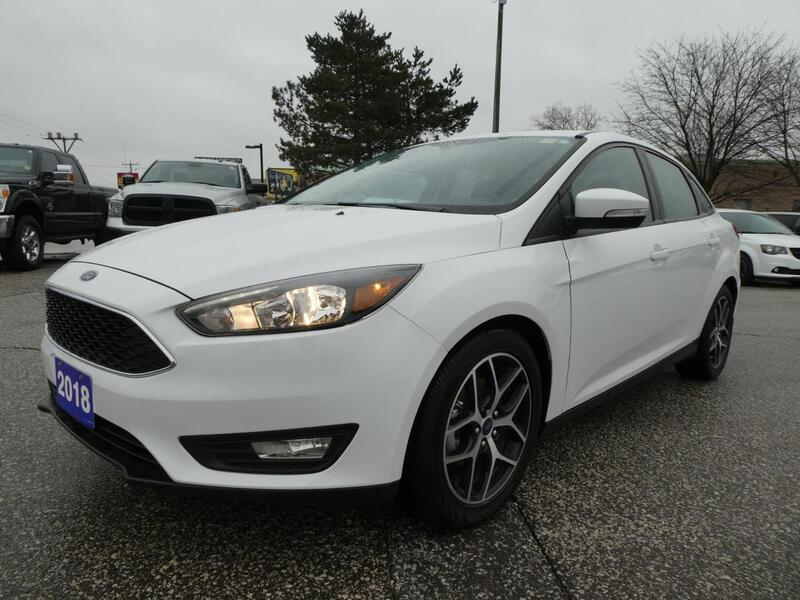 2018 Ford Focus SEL | Sunroof | Back Up Cam | Big Screen Essex ON