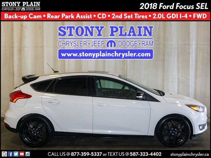 2018 Ford Focus SEL Stony Plain AB