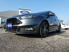 Ford Focus ST- LEATHER- ST PKG- MANUAL- ONLY 6,415KM 2018