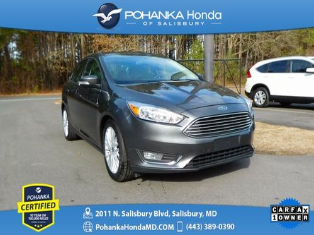 2018_Ford_Focus_Titanium NAVI ** Pohanka Certified 10 Year / 100,000  **_ Salisbury MD