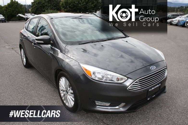 2018 Ford Focus Titanium No accident,Leather, Full Load, Backup camera,Bluetooth Kelowna BC