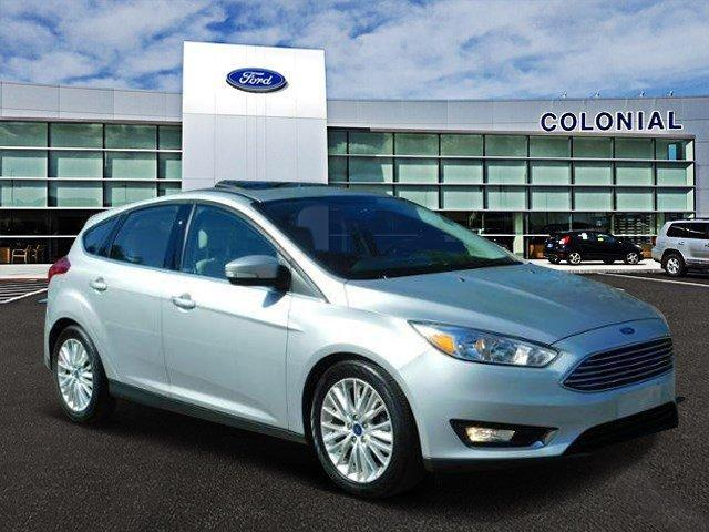2018 Ford Focus Titanium With Navigation
