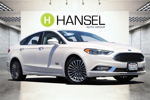 2018 Ford Fusion Energi Platinum Santa Rosa CA