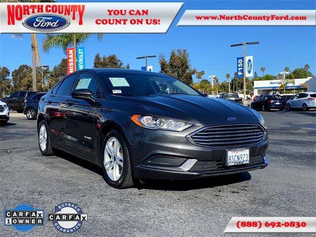 2018 Ford Fusion Hybrid S San Diego County CA