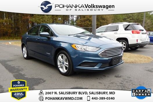 2018_Ford_Fusion Hybrid_SE ** CLEAN CARFAX ** 43 MPG ** CHECK IT OUT **_ Salisbury MD
