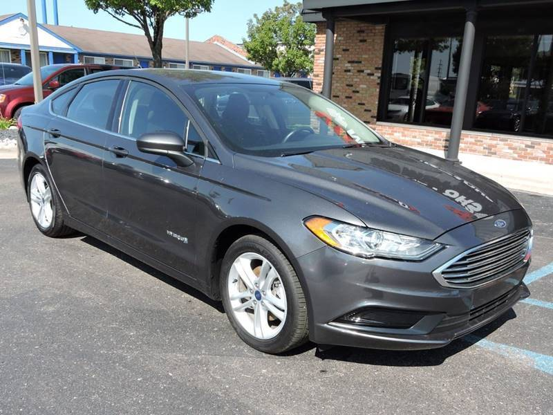 2018 Ford Fusion Hybrid SE 4dr Sedan Chesterfield MI