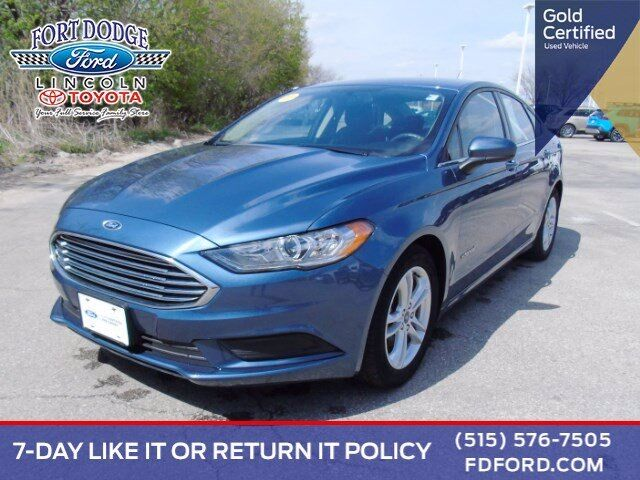 2018 Ford Fusion Hybrid SE Fort Dodge IA