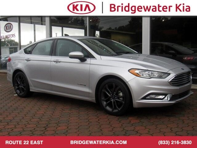 2018 Ford Fusion Hybrid SE Sedan, Appearance Package, Push Button Start, Rear-View Camera, In-Dash CD/MP3-Player, Bluetooth Streaming Audio, LED Signature Lighting, Trunk Lid Spoiler, 18-Inch Alloy Wheels, Bridgewater NJ