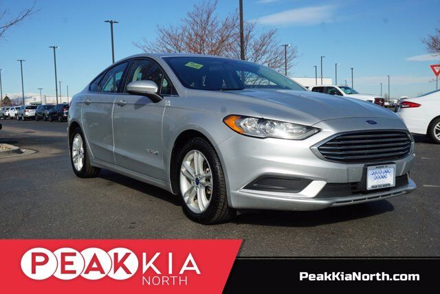 2018 Ford Fusion Hybrid SE Windsor CO