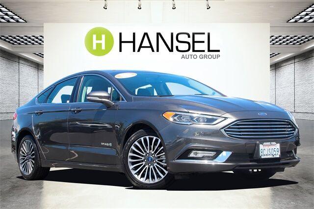 2018 Ford Fusion Hybrid Titanium Santa Rosa CA