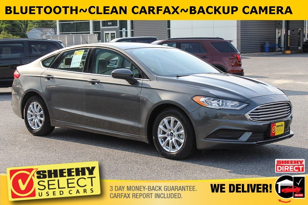 2018 Ford Fusion S Suitland MD