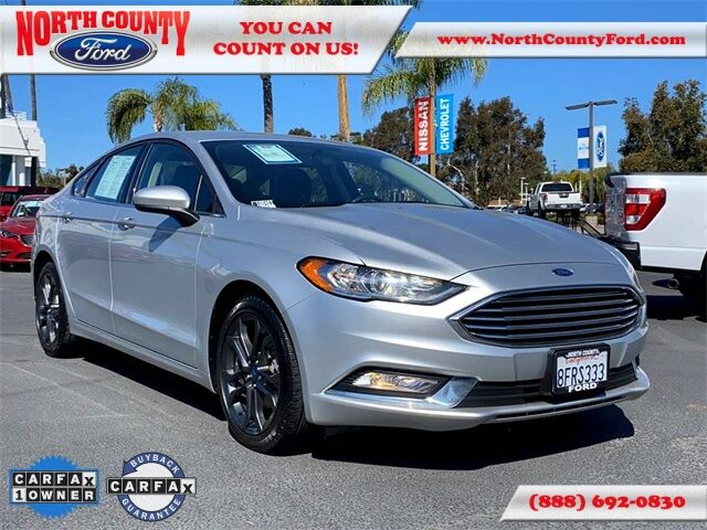 2018 Ford Fusion S San Diego County CA