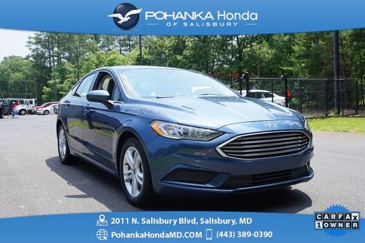 2018_Ford_Fusion_SE ** GUARANTEED FINANCING ** ONE OWNER **_ Salisbury MD