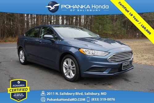 2018_Ford_Fusion_SE ** Pohanka Certified 10 Year / 100,000  **_ Salisbury MD