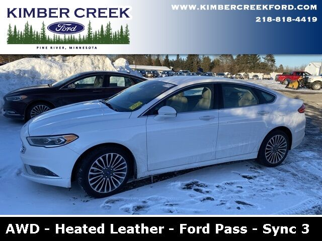 2018 Ford Fusion SE AWD Pine River MN