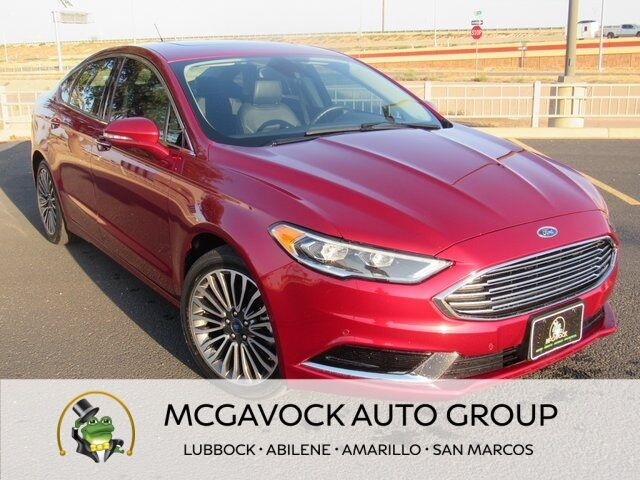 2018 Ford Fusion SE Lubbock TX