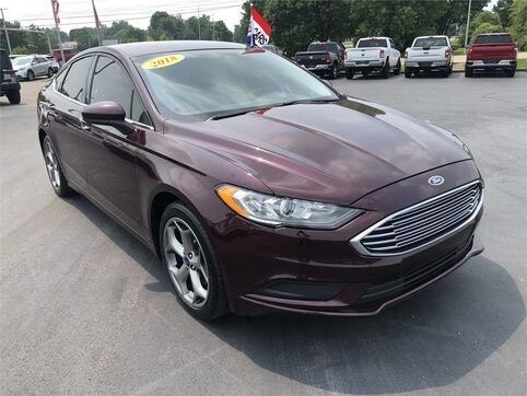 2018_Ford_Fusion_SE_ Evansville IN