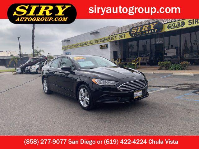 2018 Ford Fusion SE San Diego CA