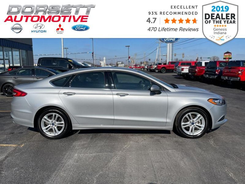 2018 Ford Fusion SE Marshall IL