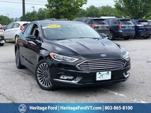 2018 Ford Fusion Titanium South Burlington VT