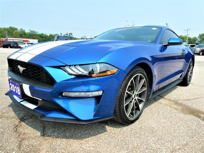 2018 Ford Mustang 2.3L EcoBoost | Back Up Cam | Cruise Control Essex ON