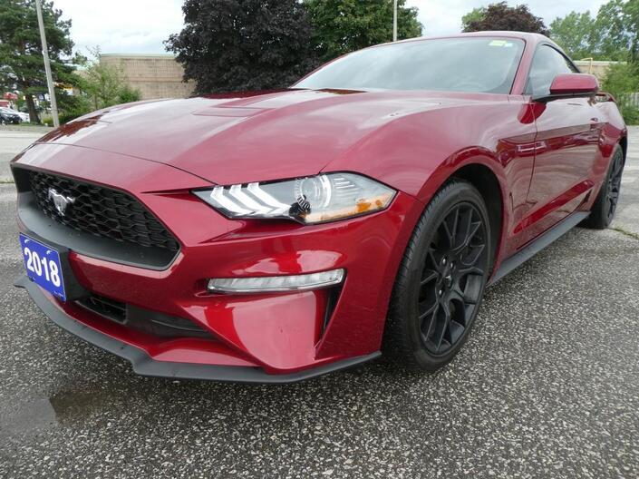 2018 Ford Mustang EcoBoost | Back Up Cam | Active Gauges | Bluetooth Essex ON