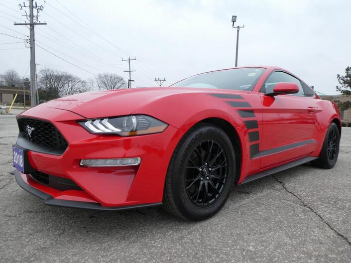 2018 Ford Mustang EcoBoost   Back Up Cam   Bluetooth   Automatic Essex ON