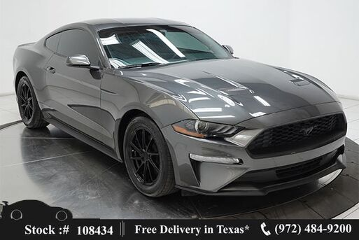 2018_Ford_Mustang_EcoBoost BACK-UP CAMERA,KEY-GO,17IN WHLS_ Plano TX